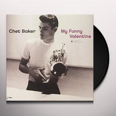 Chet Baker MY FUNNY VALENTINE Vinyl Record