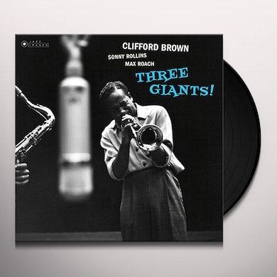 Clifford Brown THREE GIANTS Vinyl Record