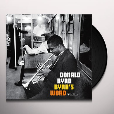 Donald Byrd BYRD'S WORD Vinyl Record