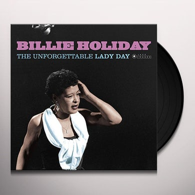 Billie Holiday UNFORGETTABLE LADY DAY Vinyl Record