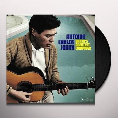 Antonio Carlos Jobim BRAZIL'S GREATEST COMPOSER Vinyl Record