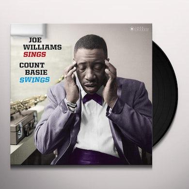 Count Basie / Joe Williams JOE WILLIAMS SINGS BASIE SWINGS Vinyl Record