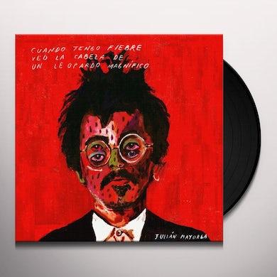 CUANDO TENGO FIEBRE VEO LA CABEZA DE UN LEOPARDO Vinyl Record