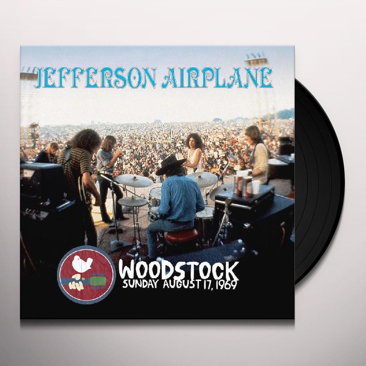 Jefferson Airplane WOODSTOCK SUNDAY AUGUST 17,1969 Vinyl Record