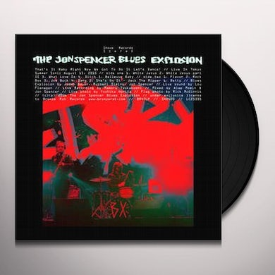 The Jon Spencer Blues Explosion THAT'S IT BABY RIGHT NOW WE GOT TO DO IT LET'S Vinyl Record
