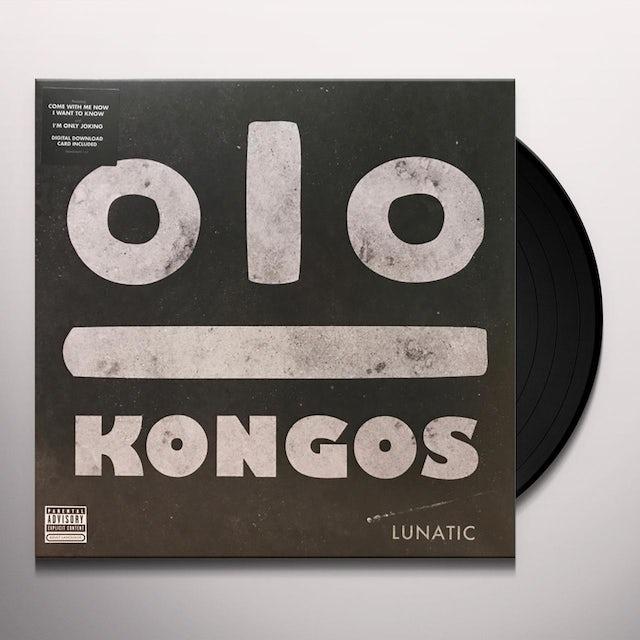 Kongos LUNATIC Vinyl Record
