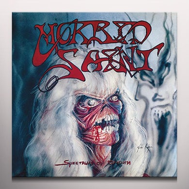 Morbid Saint SPECTRUM OF DEATH (W/BOOK) Vinyl Record - Clear Vinyl, Gatefold Sleeve, Reissue