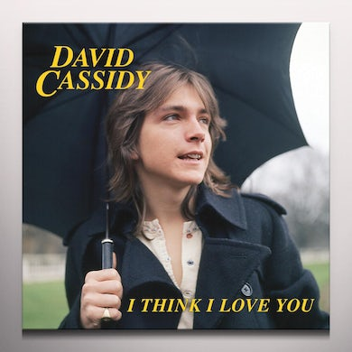 David Cassidy I THINK I LOVE YOU - Limited Edition 7 '' Colored Vinyl Record