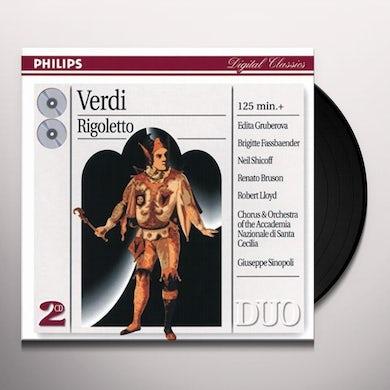 Verdi RIGOLETTO Vinyl Record