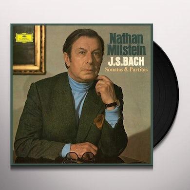 Nathan Milstein J.S. Bach: Sonatas & Partitas For Solo Violin Vinyl Record