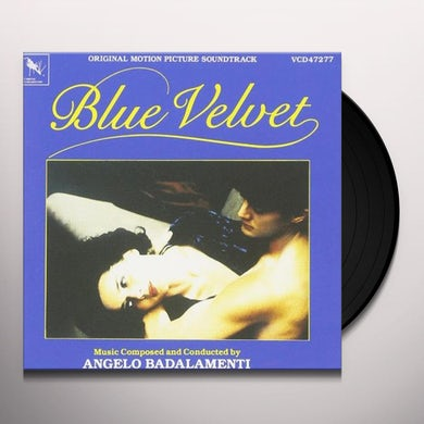 Angelo Badalamenti Blue Velvet - Original Motion Picture Soundtrack (LP) Vinyl Record