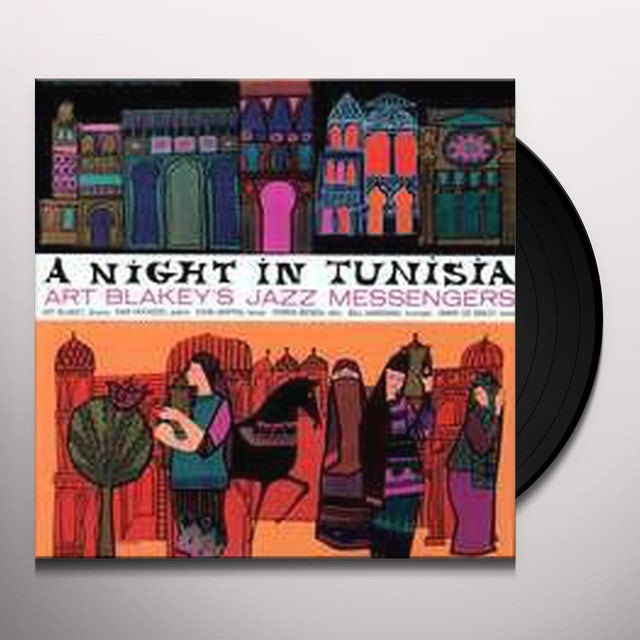 Art Blakey NIGHT IN TUNISIA Vinyl Record