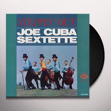 Joe Cuba STEPPIN OUT Vinyl Record