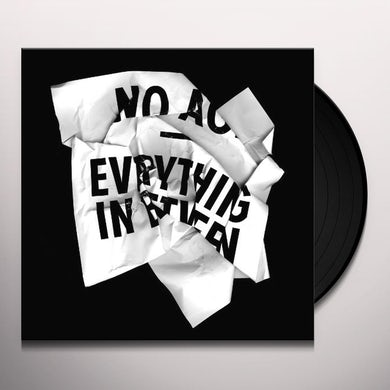 No Age EVERYTHING IN BETWEEN Vinyl Record