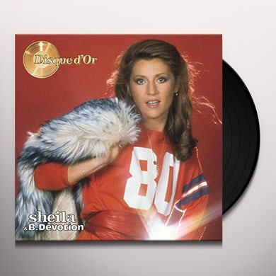Sheila & B.Devotion DISQUE DOR Vinyl Record