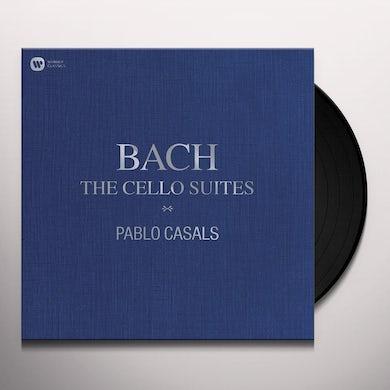 Pablo Casals BACH: THE CELLO SUITES Vinyl Record