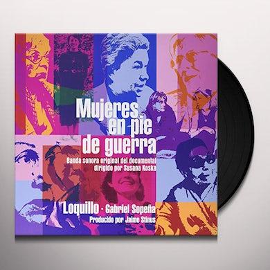 Loquillo MUJERES EN PIE DE GUERRA Vinyl Record