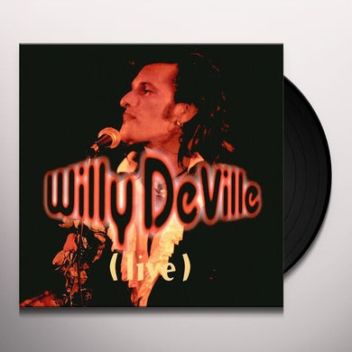 Willy Deville LIVE FROM THE BOTTOM LINE TO THE OLYMPIA THEATRE Vinyl Record