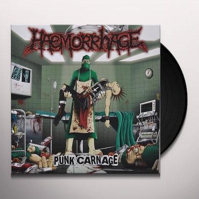 Haemorrhage PUNK CARNAGE Vinyl Record