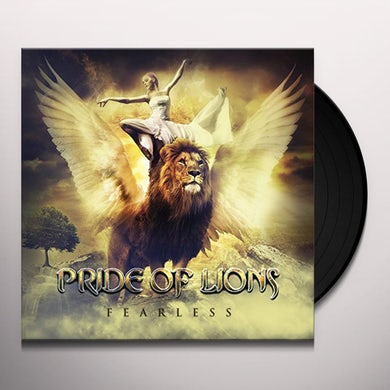 Pride Of Lions FEARLESS Vinyl Record - UK Release
