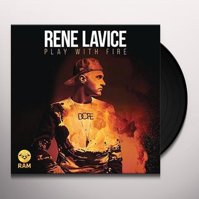 Rene Lavice PLAYING WITH FIRE SAMPLER Vinyl Record