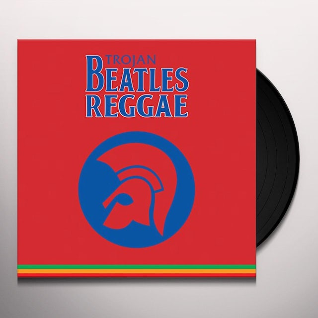 TROJAN BEATLES REGGAE THE RED ALBUM / VARIOUS