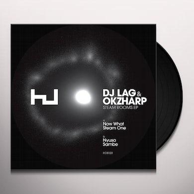 Dj Lag STEAM ROOMS Vinyl Record
