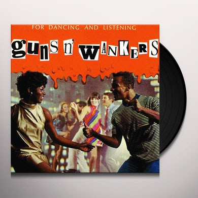 Guns N Wankers POP - HARDCORE - METAL -SILLY (COMP RECORDINGS) Vinyl Record