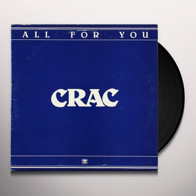 Crac ALL FOR YOU Vinyl Record