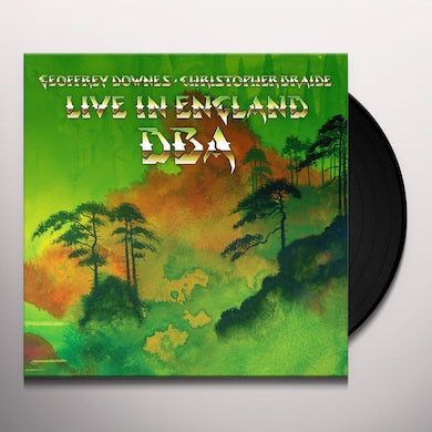 Downes Braide Association LIVE IN ENGLAND Vinyl Record