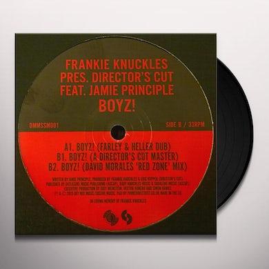 Frankie Knuckles BOYZ! Vinyl Record