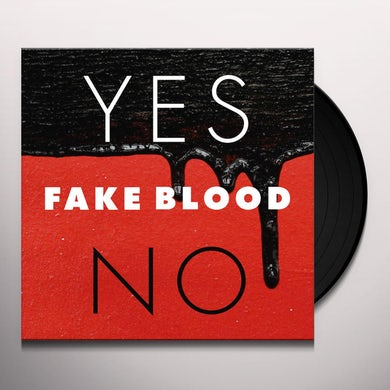 Fake Blood YES / NO Vinyl Record