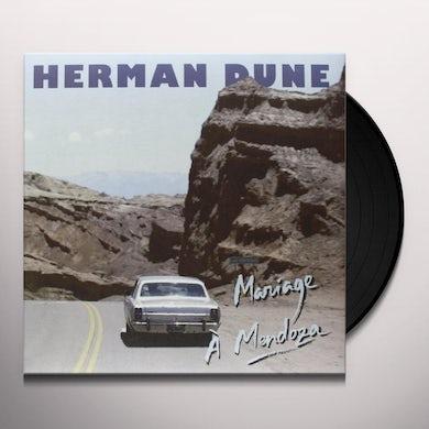 Herman Dune MARIAGE A MENDOZA (FRA) Vinyl Record