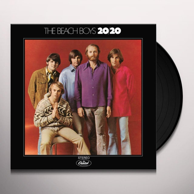 The Beach Boys 20/20 Vinyl Record