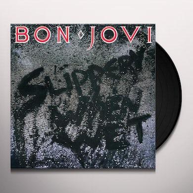 Bon Jovi Slippery When Wet (LP) Vinyl Record