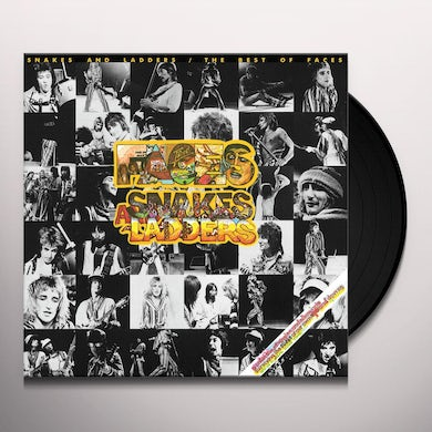 Faces SNAKES & LADDERS: THE BEST OF Vinyl Record