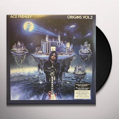 Ace Frehley Origins Vol. 2 (Blue & White) Vinyl Record