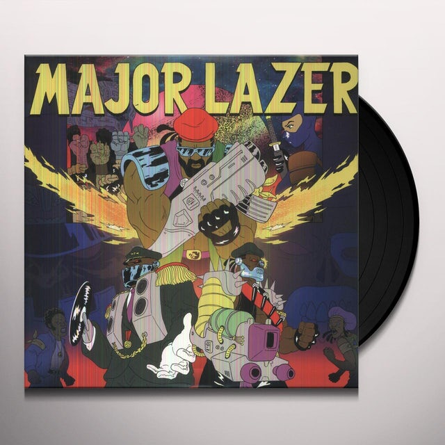 Major Lazer FREE THE UNIVERSE Vinyl Record