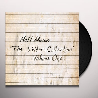 THE WRITER'S COLLECTION: VOLUME ONE Vinyl Record