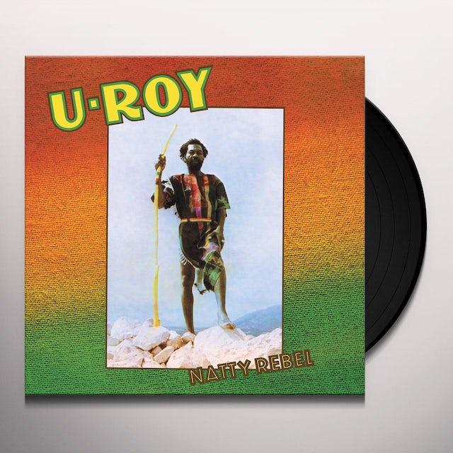 U-Roy NATTY REBEL Vinyl Record