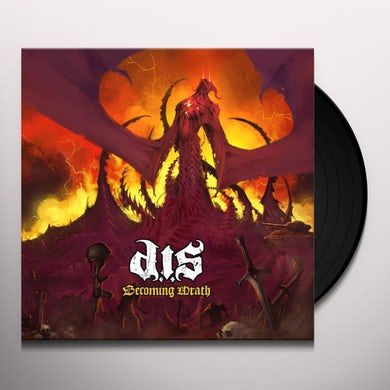 Destroyed In Seconds BECOMING WRATH Vinyl Record