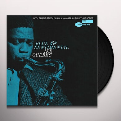 Ike Quebec BLUE AND SENTIMENTAL Vinyl Record
