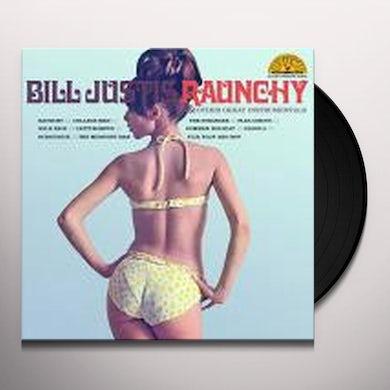 Bill Justis RAUNCHY & OTHER GREAT INSTRUMENTALS Vinyl Record