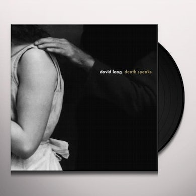 David Lang DEATH SPEAKS Vinyl Record