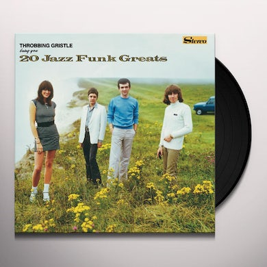THROBBING GRISTLE 20 JAZZ FUNK GREATS Vinyl Record - Colored Vinyl, Green Vinyl