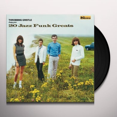 THROBBING GRISTLE 20 JAZZ FUNK GREATS Vinyl Record