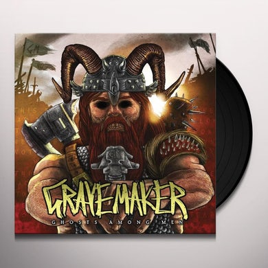 Gravemaker GHOSTS AMONG MEN Vinyl Record