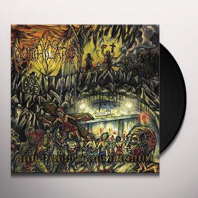 Savage Annihilation QUAND S'ABAISSE LA CROIX DU BLASPHEME Vinyl Record