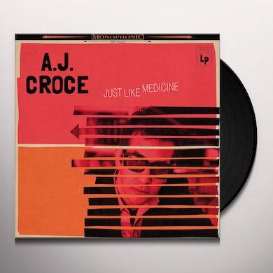 A.J. Croce JUST LIKE MEDICINE Vinyl Record