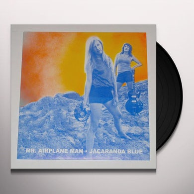 Mr Airplane Man JACARANDA BLUE Vinyl Record